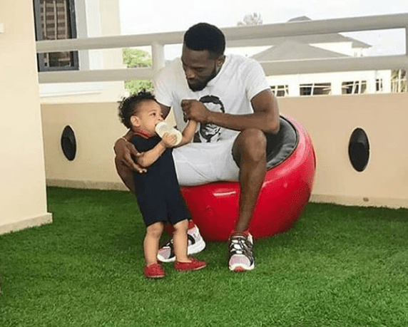 Dbanj breaks silence after losing his 13-month-old son