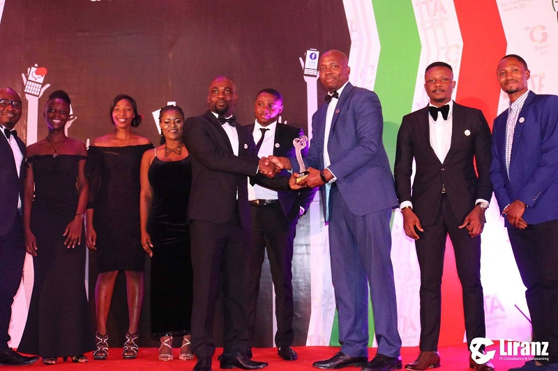 Liranz wins IT consulting firm of the year back-to-back at the 8th Ghana Information Technology and Telecom Awards (GITTA) 2018