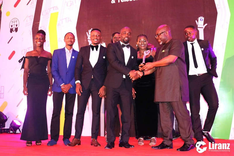 Liranz wins IT Managed Service Provider of the year at the 8th Ghana Information Technology and Telecom Awards (GITTA) 2018