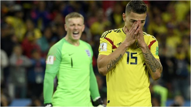 Colombian Players Who Missed Penalties Against England Receive Death Threats