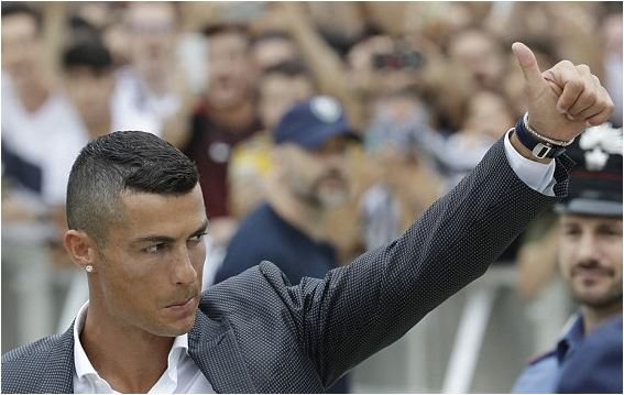 Protests against Cristiano Ronaldo's £100million move to Juventus have fallen flat