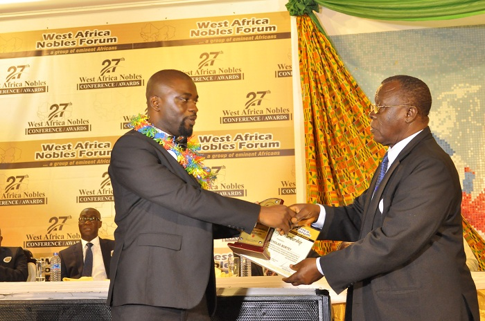Mr. Nicholas Bortey, The CEO of Liranz has been inducted into the West Africa Noble Forum