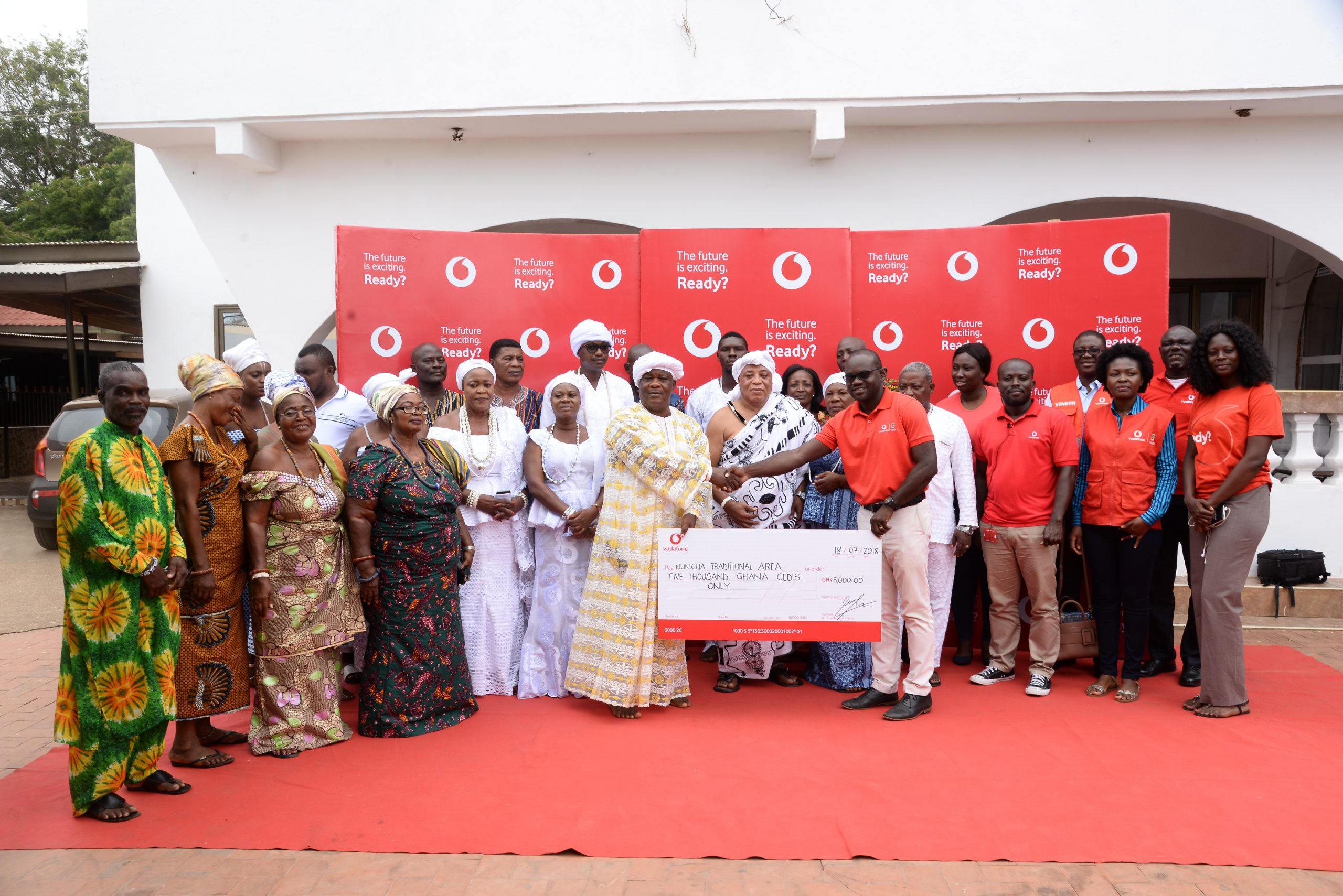 Vodafone enforces commitment to Homowo with GHS 50,000