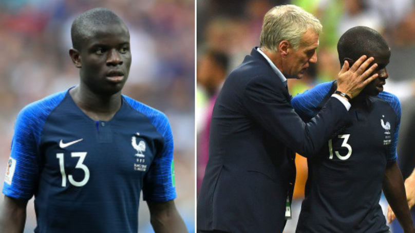 The Real Reason Why N'Golo Kante Was Substituted In The World Cup Final