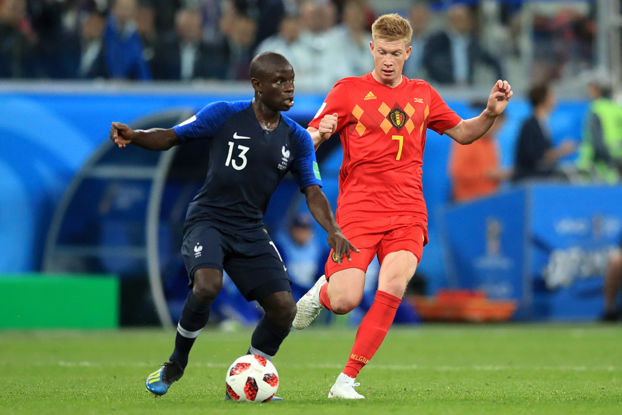 Steven Nzonzi Encourages France Teammates To Let N'Golo Kante Hold World Cup Trophy