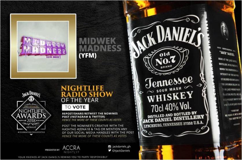 Full List of Winners: JD Nightlife Awards 2018