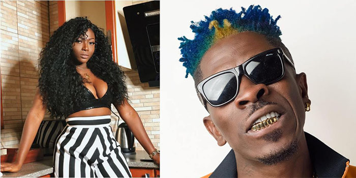 Sefa Reacts to Reports Indicating She Called Shatta Wale a 'Dirty' guy