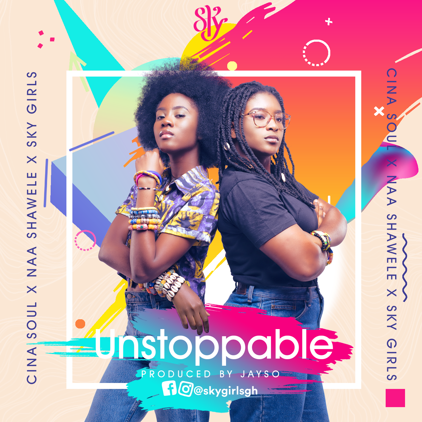 """Listen Up: Cina Soul and Naa Shawele Present """"Unstoppable"""""""