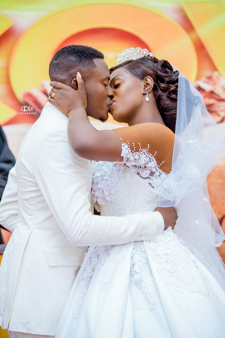 Photos: Mr Gyan of Twens fame marries Linda Antwi