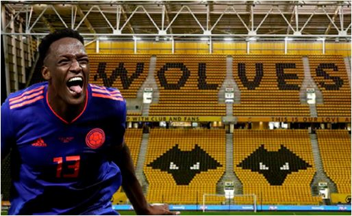 Wolves Interested In Signing Barcelona Defender Yerry Mina