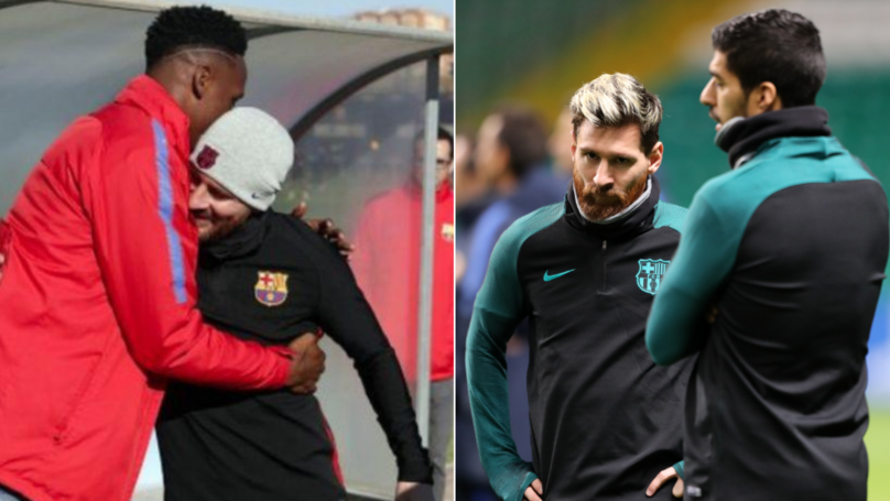 Yerry Mina Has Been Paying Luis Suarez And Lionel Messi 50 Euros Per Day Since He Joined