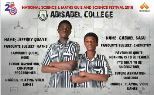 #NSMQ2018: St Peter's Wins 2018 NSMQ