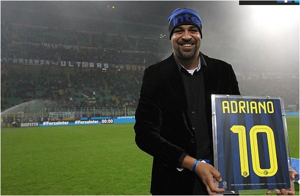 Adriano opens up on boozing and depression issues that ruined his career