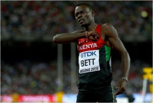 Nicholas Bett: Kenya's former 400m hurdles world champion dies aged 28