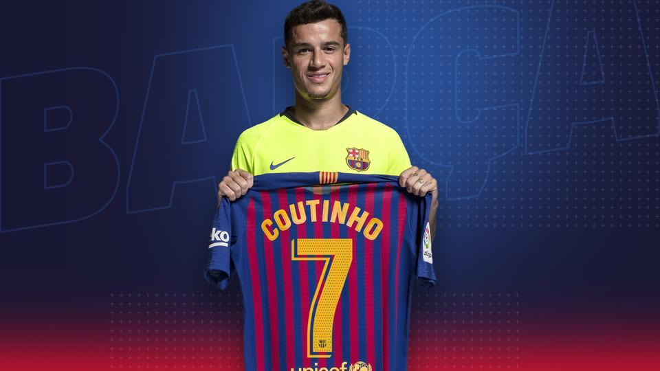 Here's Why Philippe Coutinho changed his nationality