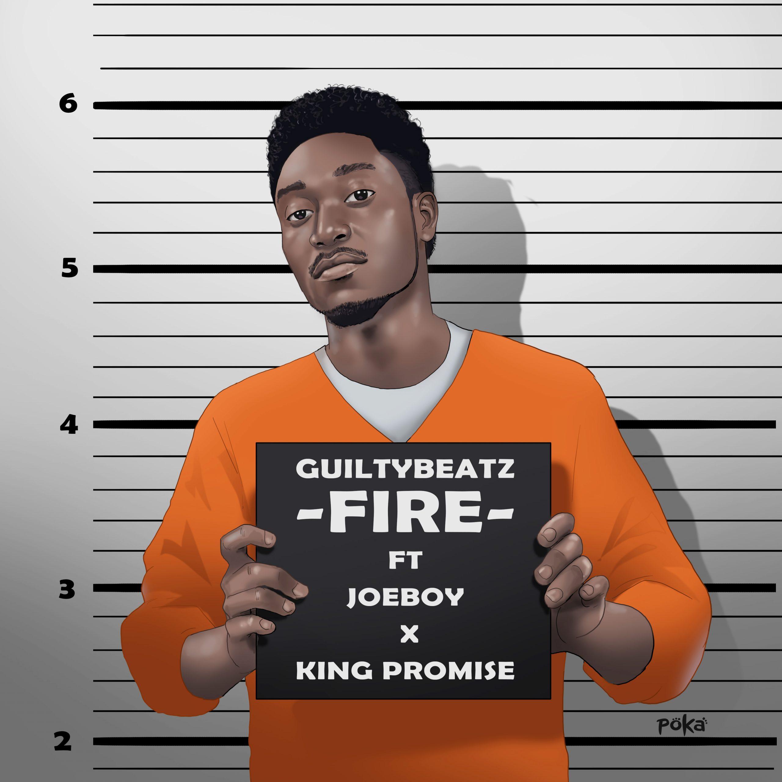 Watch: GuiltyBeatz premieres sophomore single titled 'Fire'