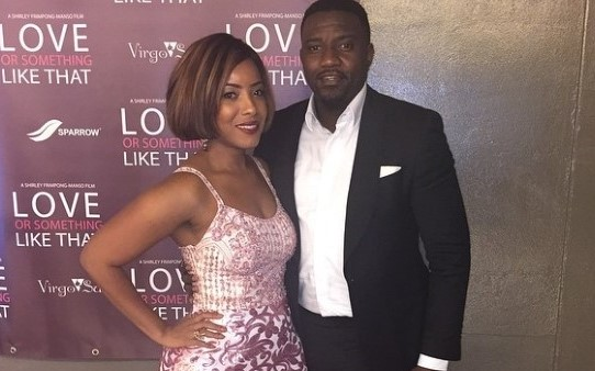 Joselyn Dumas reacts to reports indicating she dated John Dumelo for 2 Years