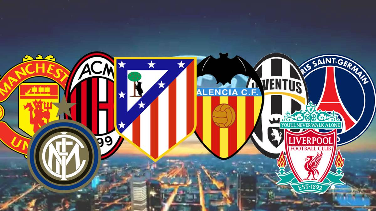 UEFA list Europe's 20 most debt-stricken clubs