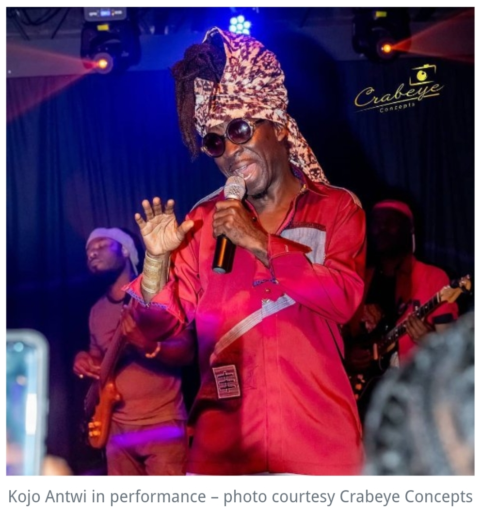 Kojo Antwi thrills fans in Washington DC