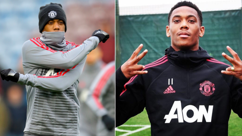 Manchester United To Fine Anthony Martial £180,000