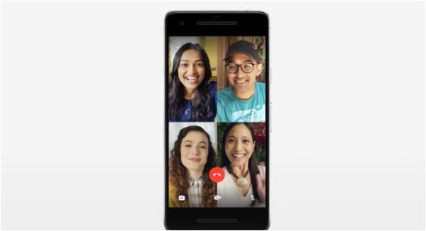 WhatsApp now allows group voice and video calls between up to 4 people
