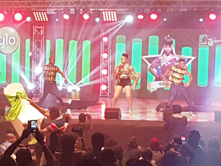 Watch: Highlights from #GloMegaMusicShow2018 with Sarkodie, Patapaa and more