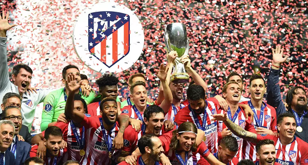 Watch how Atletico edged Madrid 4-2 in the Super Cup