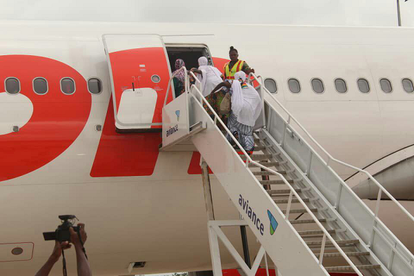 1st Batch of Hajj pilgrims off to Mecca