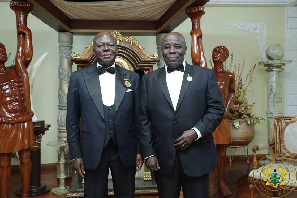Historic: Otumfuo Osei Tutu visits Okyehene in Kyebi