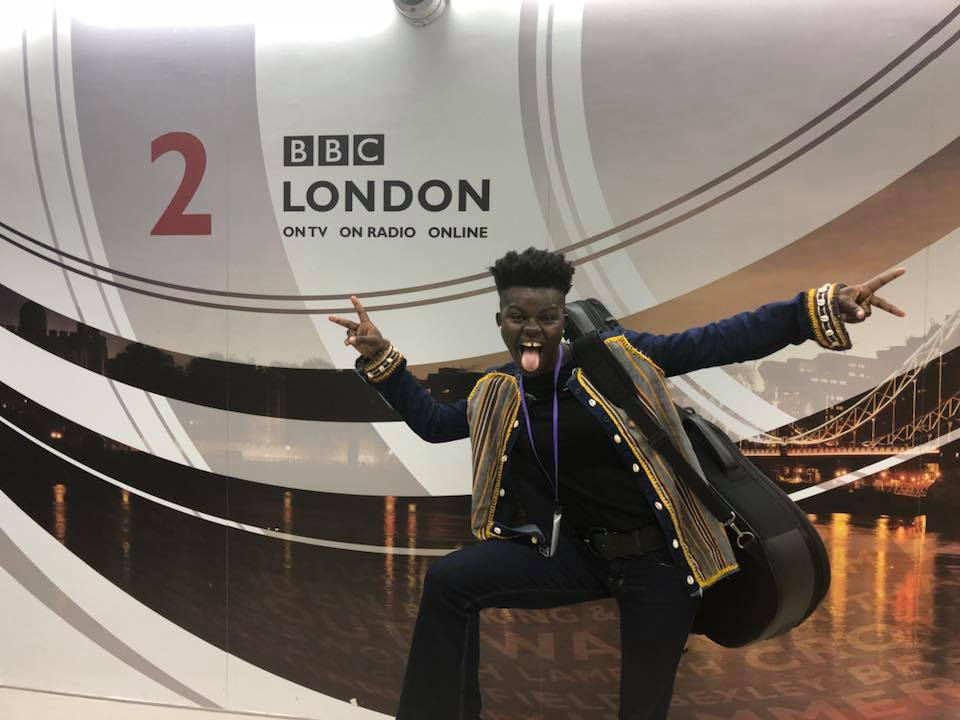 Wiyaala details how Vodafone Icons contributed to her flourishing career on BBC Radio London