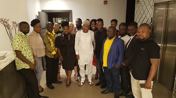 Ghana: AMVCA Winners & MTF Students Dine With MultiChoice Gh & Ministry