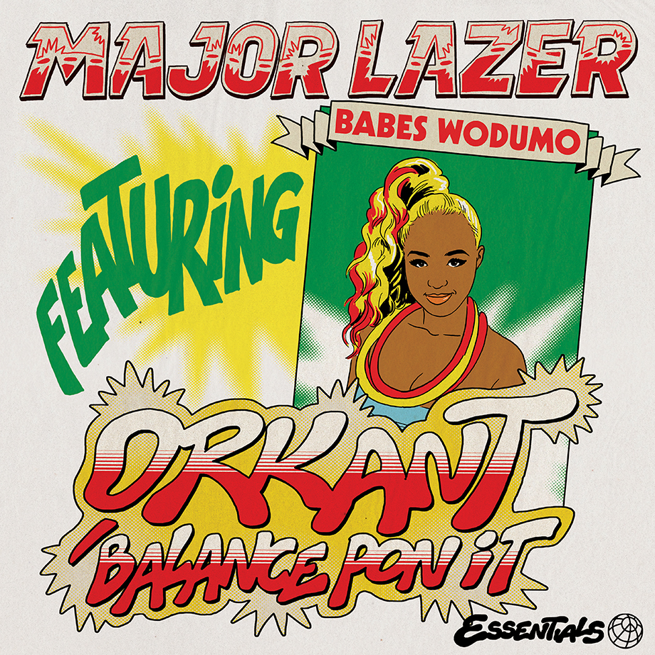 "Major Lazer Debuts ""Orkant/Balance Pon It""  Featuring Babes Wodumo"