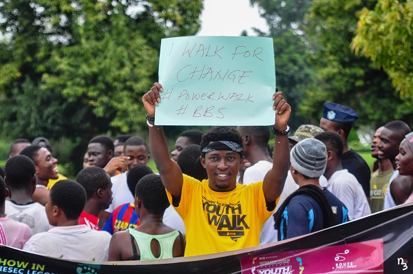 Ghana Youth Walk scheduled for September 21
