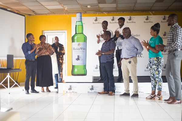 Guinness Ghana Breweries Ltd Launches Black & White Scotch Whisky