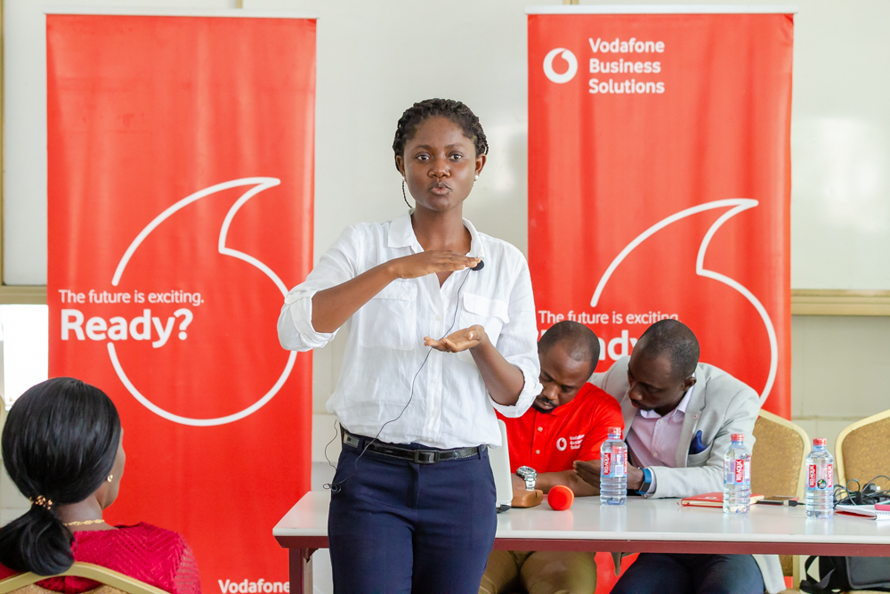 Vodafone equips Makola traders with business skills
