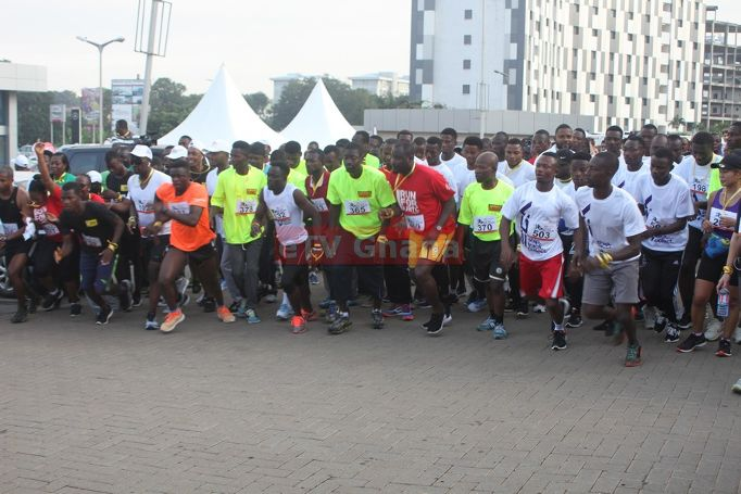 Corporate Ghana Marks Founders' Day with 2018 e.TV Ghana, Japan Motors Corporate Run