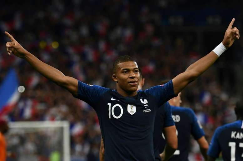 At 19 Mbappe has more goals than Ronaldo and Messi at the same age