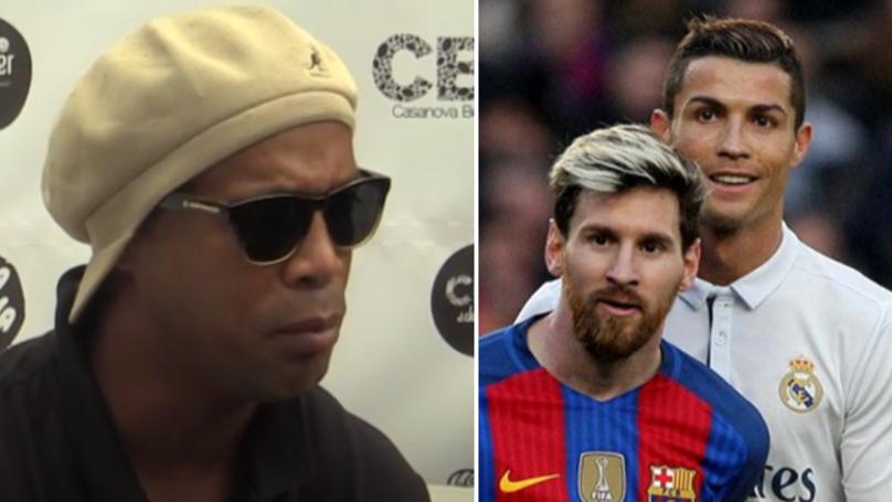 Cristiano Ronaldo Or Lionel Messi? Ronaldinho Gives Brilliant Answer