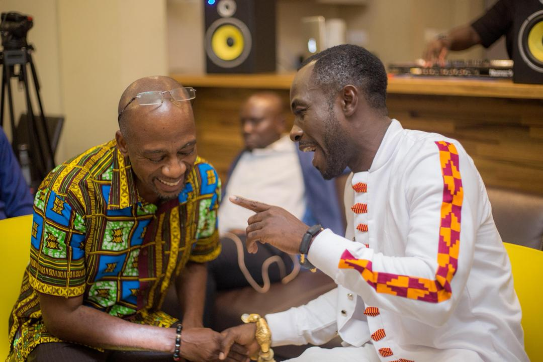 Okyeame Kwame holds listening session for 'Made In Ghana' album
