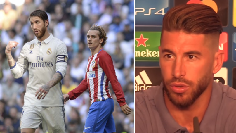 Sergio Ramos Brutally Slams Antoine Griezmann Over Cristiano Ronaldo And Lionel Messi Claim