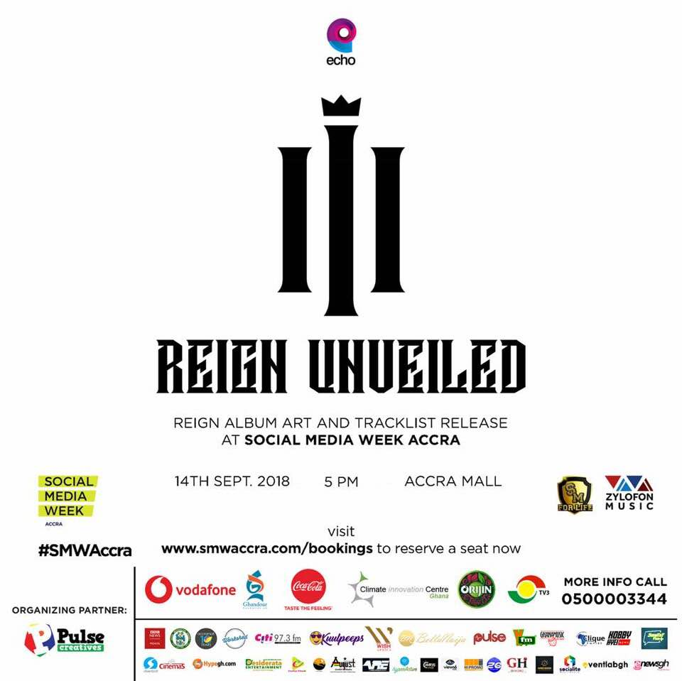 Shatta Wale To Unveil 'Reign' Album Cover & Track list September 14