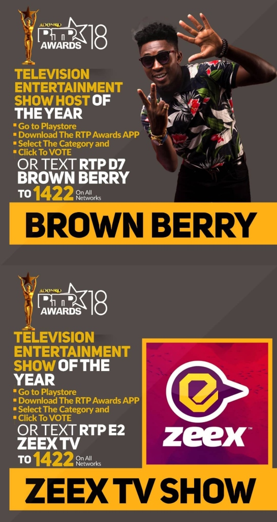 YFM's Brown Berry bags two nominations at 2018 RTP Awards