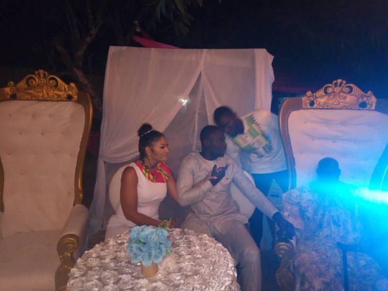 First Photos: Ghanaian actor Chris Attoh marries again