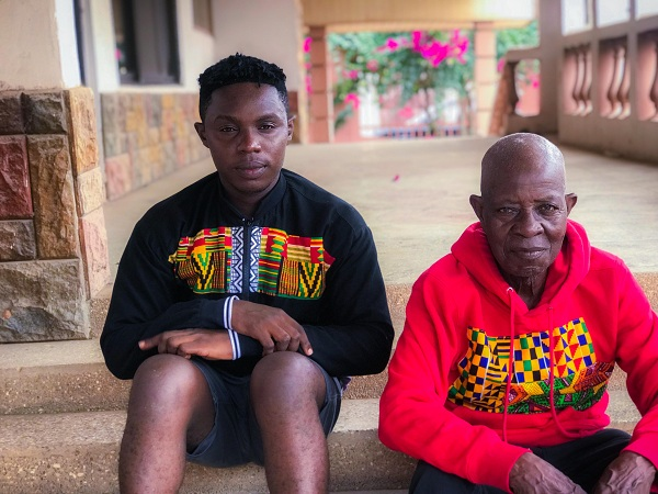 Ghanaian Fashion brand BOiE&Bill celebrates International Old age day by featuring a 90year old male model for their collection