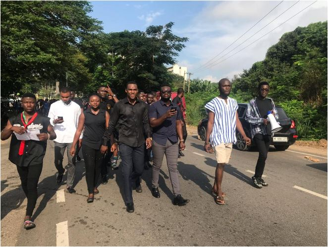 Medikal, Kojo Cue, DKB others react to KNUST protest