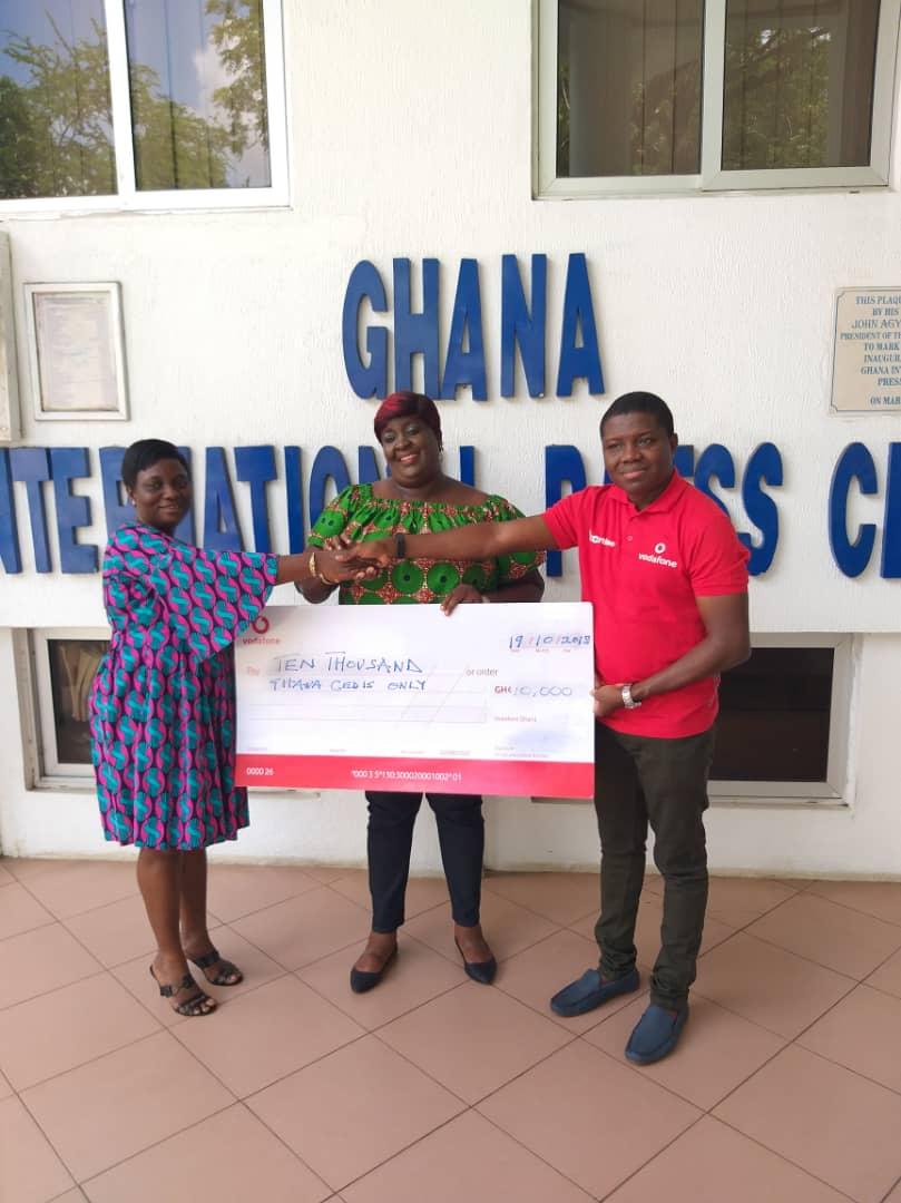 Vodafone supports Ghana Journalists Awards