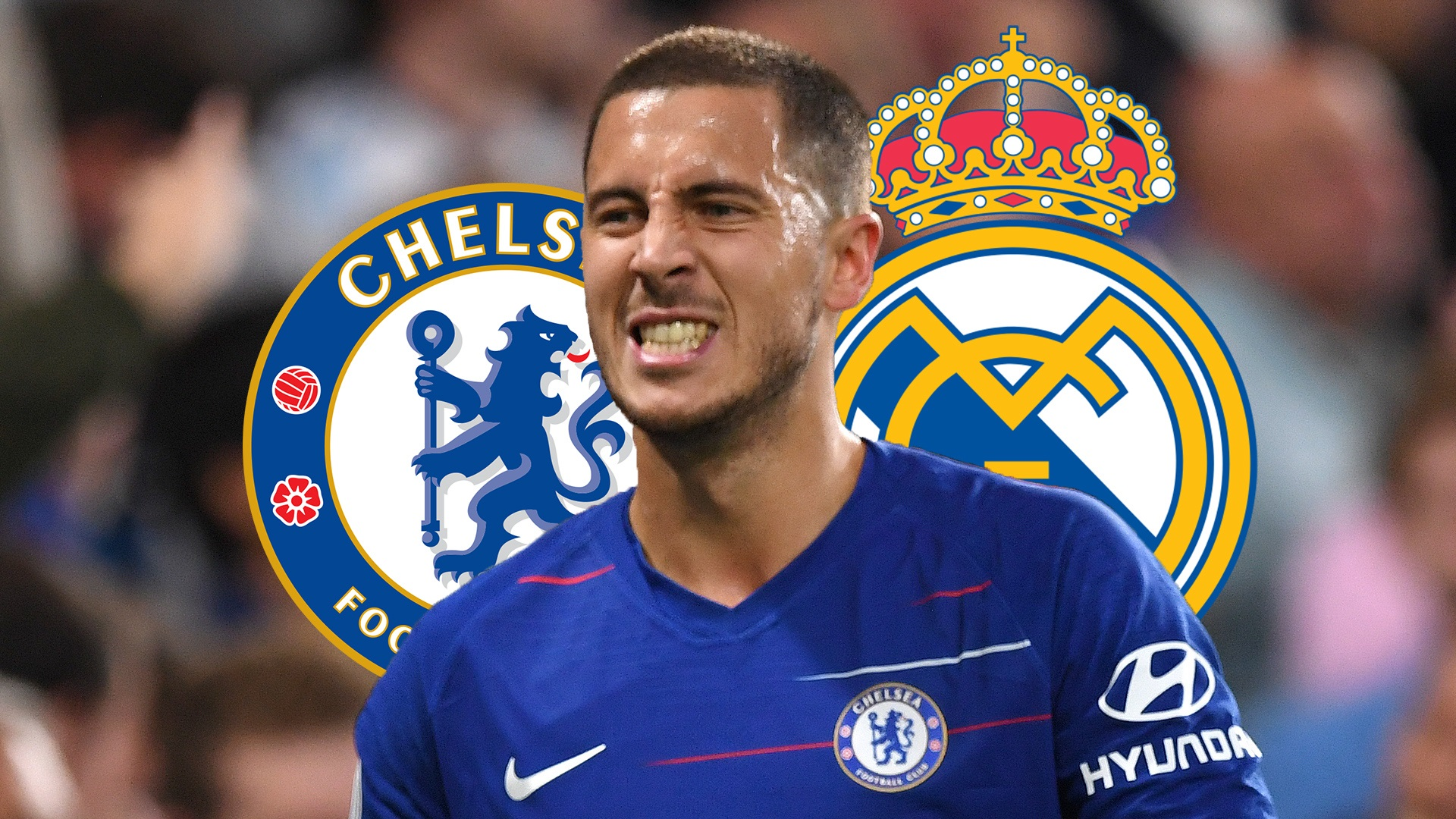 Hazard torn between Chelsea and Real Madrid