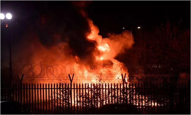 Leicester City owner's helicopter crashes in car park after match