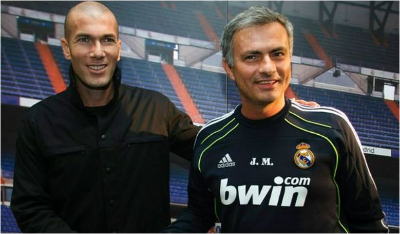 Jose Mourinho 'receives phone call from Zinedine Zidane' regarding Manchester United job