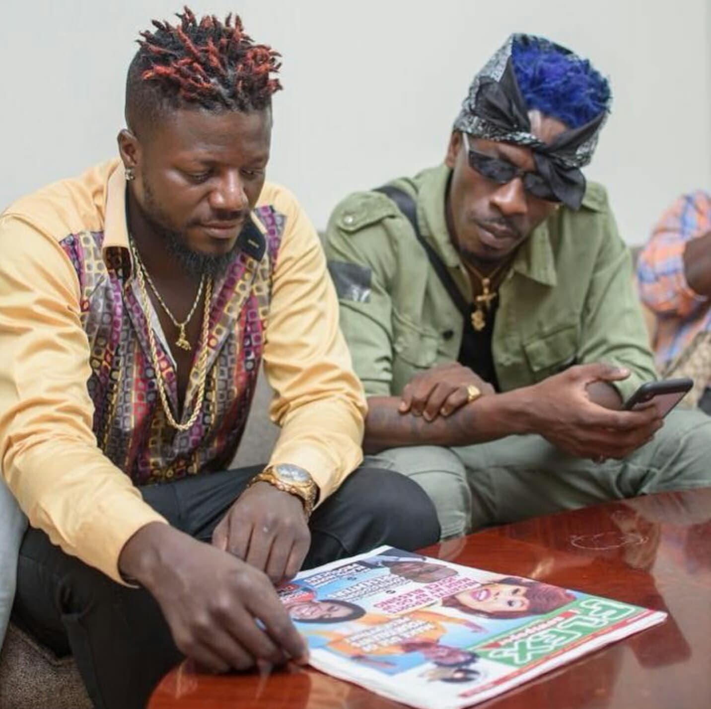 Shatta Wale Comments On Pope Skinny's Excitement When Sarkodie 'Adviced' Him